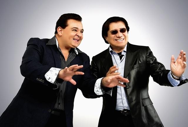 Richie Ray y Bobby Cruz, conocidos como Los Reyes de la Salsa