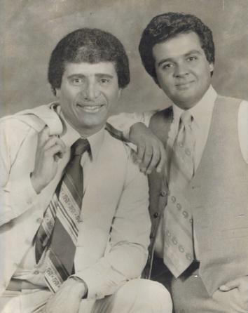 Richie Ray y Bobby Cruz. Foto - Sólo se vive una vez - Radio Gladys Palmera
